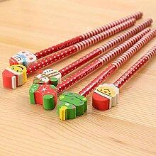 HB Schülerbleistift Mit Weihnachten Radiergummi
