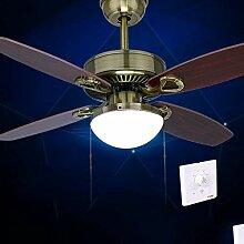 HBA Antik Deckenventilator Licht LED-Leuchten