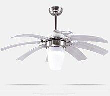 HBA Kronleuchter LED-Decke Ventilator Ventilator