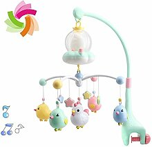 HBIAO Baby Musical Cot Mobile mit Sound-Effekt