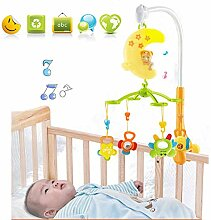 HBIAO Baby Musical Krippe Mobile Spielzeug mit