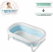 HBIAO Faltbare Babybadewanne, Tragbares