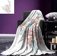 HBYMV Decken Tagesdecke Decke Blumengesteck mit
