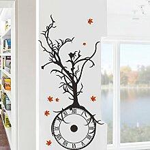 HCCY Stilvolle Nordic wind Wall Sticker braun