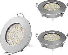 HCFEI 3er Set Flaches Design Mini LED