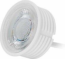 HCFEI 5x LED Modul flach GU10 Ersatz 230V 5 Watt