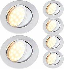 HCFEI LED Einbaustrahler 230V Dimmbar Ultra Flach