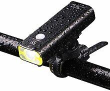 HCFKJ Wheel Up Waterproof Fahrradbeleuchtung Fahrrad Fahrrad Frontscheinwerfer Rücklicht (E)