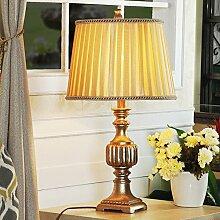 HCP American Retro-Lampen/Schlafzimmerlampe/Tischlampe für Arbeitszimmer