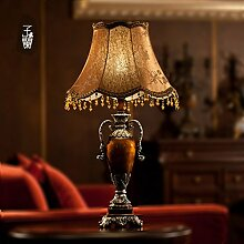 HCP Im europäischen Stil Garten Vintage-Lampe/Amerikanische Dorf Lampe/Schlafzimmer/Wohnzimmerbeleuchtung/Lampe für Arbeitszimmer-2Druckschalter