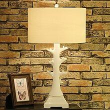 HCP Schlafzimmer Nachttischlampe/Kreative weiße