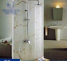 HCP Vollkupfer-Duscharmatur/Die Niederschläge