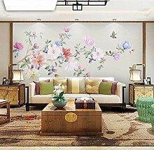 HCWYQ Fototapete Wandtapete DIY Blumen- Und