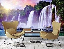 HD 3D stereoskopische Tapete Wasserfall TV