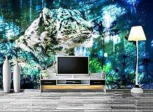HD 3D Tapeten Tiger Tapeten Wandbilder für TV