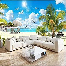 Hd Strand Kokospalme Landschaft Fototapete Für 3D