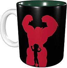 Hdadwy 11 Unzen lustige Kaffeetasse Bay-Max Tasse