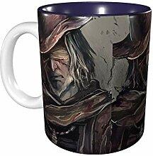 Hdadwy 11 Unzen lustige Kaffeetasse Bloodborne Art