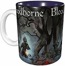 Hdadwy 11 Unzen lustige Kaffeetasse Bloodborne Mug
