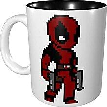 Hdadwy 11 Unzen lustige Kaffeetasse Dead Pool Mug