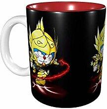 Hdadwy 11 Unzen lustige Kaffeetasse Goldsaint