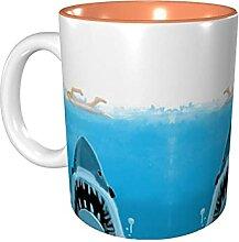 Hdadwy 11 Unzen lustige Kaffeetasse Jaw-S Becher