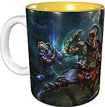 Hdadwy 11 Unzen lustige Kaffeetasse Legenden der