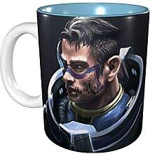 Hdadwy 11 Unzen lustige Kaffeetasse N7 Mass Effect