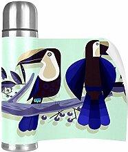 Hdadwy Blauer Vogel auf dem TreeCup Edelstahl