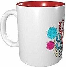 Hdadwy Dr. Seuss 11 Unzen Keramikbecher Vintage