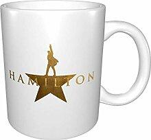 Hdadwy Hamilton Musical Kaffeetassen Mikrowelle