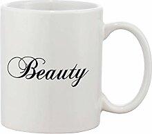 Hdadwy Keramik-Kaffeetasse 2er-Set - Beauty and