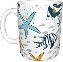 Hdadwy Naughty Sea Ceramic Mug, Kaffeetasse