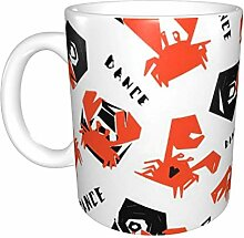 Hdadwy Partycrabs Keramikbecher, Kaffeetasse