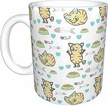Hdadwy Puss Boy Keramikbecher, Kaffeetasse