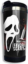 Hdadwy Scream Horror Movie Becher CoffeeTravel