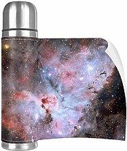 Hdadwy Star Red NebulaCup Edelstahl Leder