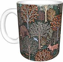 Hdadwy Wald gedrehte Keramikbecher, Kaffeetasse