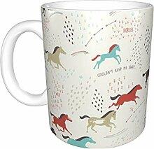Hdadwy Wild Wild Horses Keramikbecher, Kaffeetasse