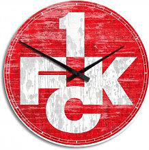 HDF-Wanduhren - Wanduhr 1. FC Kaiserslautern Logo