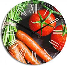 HDF-Wanduhren - Wanduhr Fresh Cooking