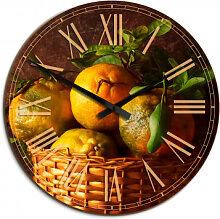 HDF-Wanduhren - Wanduhr Laercio - Farmers Lemons
