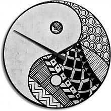 HDF-Wanduhren - Wanduhr Yin und Yang