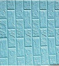 HDHXT 3D Backstein Wandaufkleber Tapete Dekor