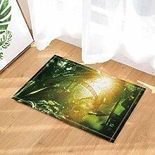 hdrjdrt Grüne Big Leaf Pflanze mystischen Busch