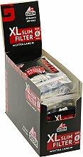 Head&Nature Gizeh Black XL Slim Filters - 20 x +