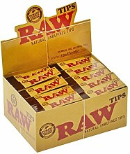 Head&Nature RAW Filtertips Slim - 50 x + Tabakdose