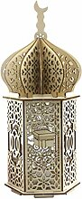 HEALLILY LED Ramadan Laterne Orientalische Lampe