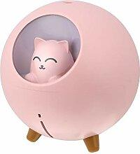 HEALLILY USB Luftbefeuchter Katze Aroma