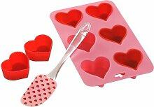 Heart Backform Antihaft ClearAmbient